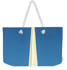 Needle-shaped Steeple Weekender Tote Bag