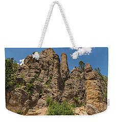 Weekender Tote Bag featuring the photograph Needles In Custer State Park by Brenda Jacobs