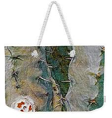 Needles In The Desert Weekender Tote Bag by Kathie Chicoine