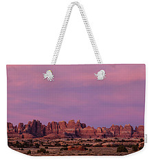 Needles Sunrise Weekender Tote Bag