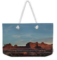 Needles Sunset Weekender Tote Bag
