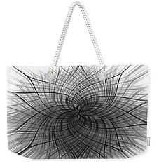 Negativity Weekender Tote Bag by Carolyn Marshall