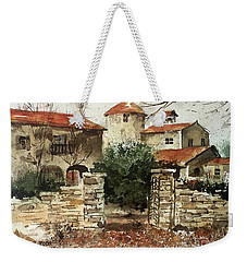 Neighbors Gate Weekender Tote Bag