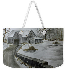 Neighbors Shed Weekender Tote Bag