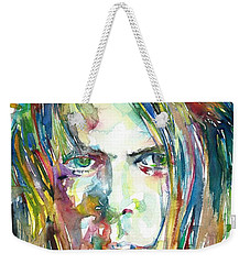 Neil Young Portrait Weekender Tote Bag