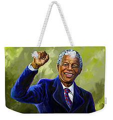 Nelson Mandela Weekender Tote Bag
