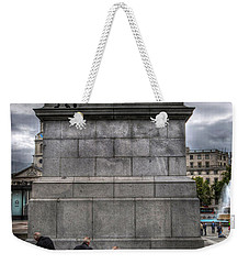 Nelson's Ship In A Bottle Weekender Tote Bag
