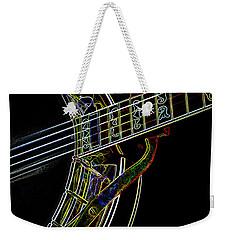 Neon Banjo  Weekender Tote Bag by Wilma Birdwell