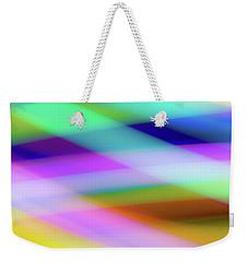 Neon Crossing Weekender Tote Bag