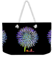 Neon Dandelion X Three Weekender Tote Bag