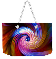 Neon Escape Weekender Tote Bag