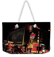 Neon Lights Weekender Tote Bag
