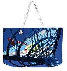 Neon Martini. Weekender Tote Bag
