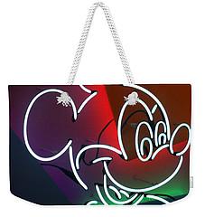 Neon Mickey Weekender Tote Bag