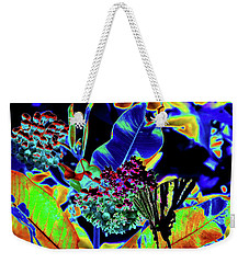 Neon Nature Weekender Tote Bag