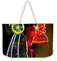Neon Navajo Weekender Tote Bag by David Patterson
