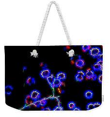 Neon Weekender Tote Bag