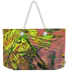 Neon Synapses Weekender Tote Bag by Todd Breitling