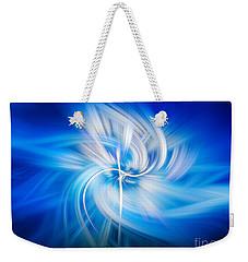 Neon Wisp Weekender Tote Bag