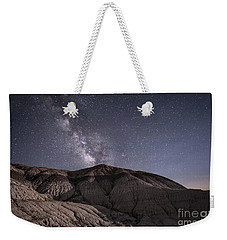 Weekender Tote Bag featuring the photograph Neopolitan Milkyway by Melany Sarafis