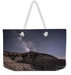 Neopolitan Milkyway Weekender Tote Bag by Melany Sarafis
