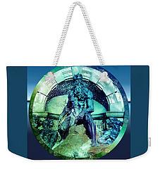 Neptune Roman God Weekender Tote Bag by Robert G Kernodle