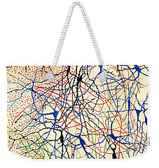 Nerve Cells Santiago Ramon Y Cajal Weekender Tote Bag