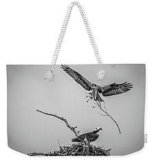 Nest Building 2m Weekender Tote Bag