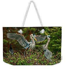 Nest Landing Weekender Tote Bag