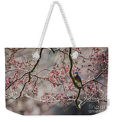 Nest Scouting Weekender Tote Bag by Judy Wolinsky