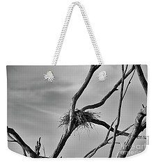 Weekender Tote Bag featuring the photograph Nested by Douglas Barnard