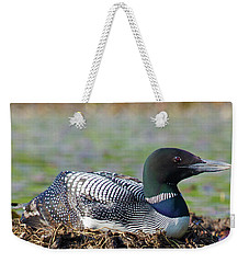 Nesting Loon Weekender Tote Bag