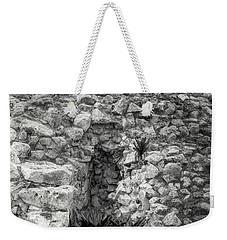 Nestle Rock B/w Weekender Tote Bag