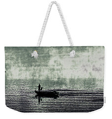 Weekender Tote Bag featuring the photograph Netherworld Lake by Steven Huszar