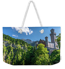 Weekender Tote Bag featuring the photograph Neuschwanstein Castle by David Morefield