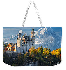 Neuschwanstein Castle In Bavaria Weekender Tote Bag
