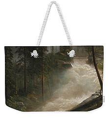 Nevada Falls Yosemite                                Weekender Tote Bag by John Stephens