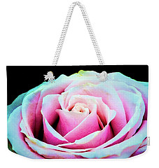 Weekender Tote Bag featuring the photograph Never A Rose Without A Prick by Jessica Manelis