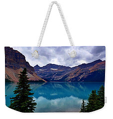 Bow Lake, Banff, Ab  Weekender Tote Bag