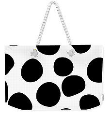 Never Change Your Spots Weekender Tote Bag by Uma Gokhale