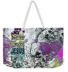 Never Forget, The Road Next Weekender Tote Bag