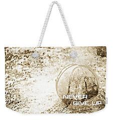 Never Give Up Hebrews Chapter 11 Weekender Tote Bag