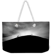 Weekender Tote Bag featuring the photograph Never Give Up by Pradeep Raja Prints