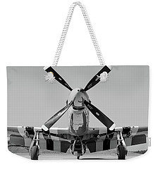 Never Keep A Mustang Waiting Weekender Tote Bag