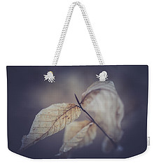 Weekender Tote Bag featuring the photograph Never To Fall by Shane Holsclaw