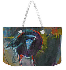 Nevermore Weekender Tote Bag by Ron Stephens