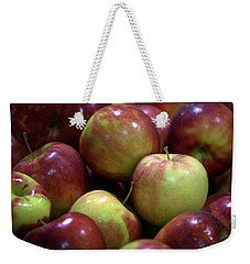 New Apples Weekender Tote Bag by Joseph Skompski