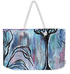 New Beginnings Weekender Tote Bag by Angela Armano