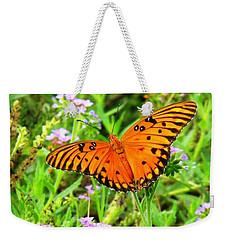 Windows From Heaven Orange Butterfly Weekender Tote Bag