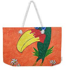 New Bird On The Block Weekender Tote Bag